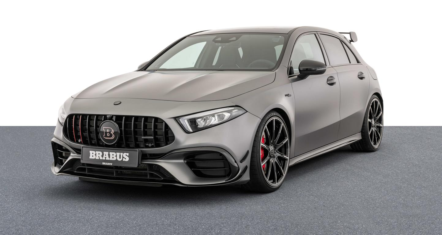 Brabus Mercedes A 45 S 4MATIC W177 Tuning Header Mercedes A 45 S 4MATIC+ mit 450 PS vom Tuner Brabus!
