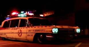 Cadillac Hearse Ghostbusters Ecto 1 Hommage Tuning 8 310x165 Video: Cadillac Hearse aus 1963 als Ghostbusters Ecto 1!