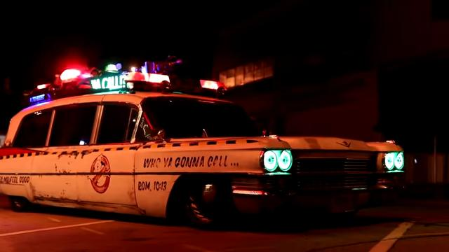 Cadillac Hearse Ghostbusters Ecto 1 Hommage Tuning 8 Video: Cadillac Hearse aus 1963 als Ghostbusters Ecto 1!