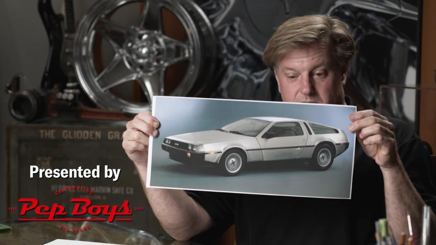 Chip Foose Redesign am DeLorean DMC 12 1 Video: Chip Foose Redesign am DeLorean DMC 12!