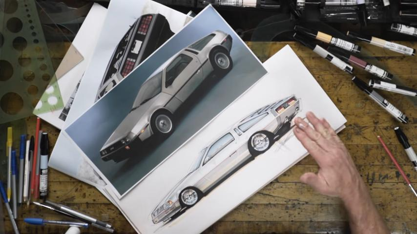 Chip Foose Redesign am DeLorean DMC 12 2 Video: Chip Foose Redesign am DeLorean DMC 12!