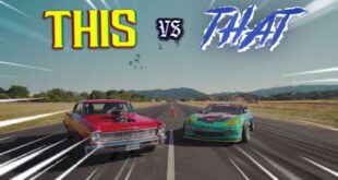 Corvette vs. Big Block Chevy Nova 310x165 Video: This vs. That   950 PS Corvette vs. Big Block Chevy Nova!