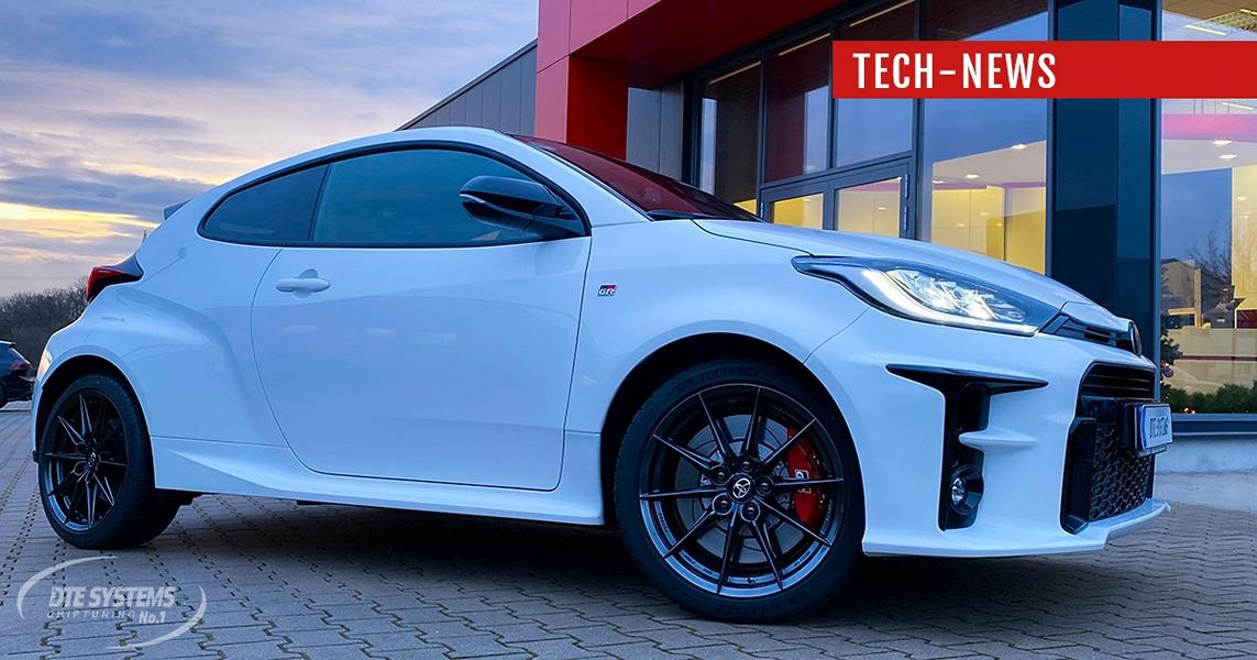 DTE Systems Chiptuning Toyota Yaris GR 310 PS 398 NM 1 DTE Systems GmbH Toyota Yaris GR mit 310 PS & 398 NM!