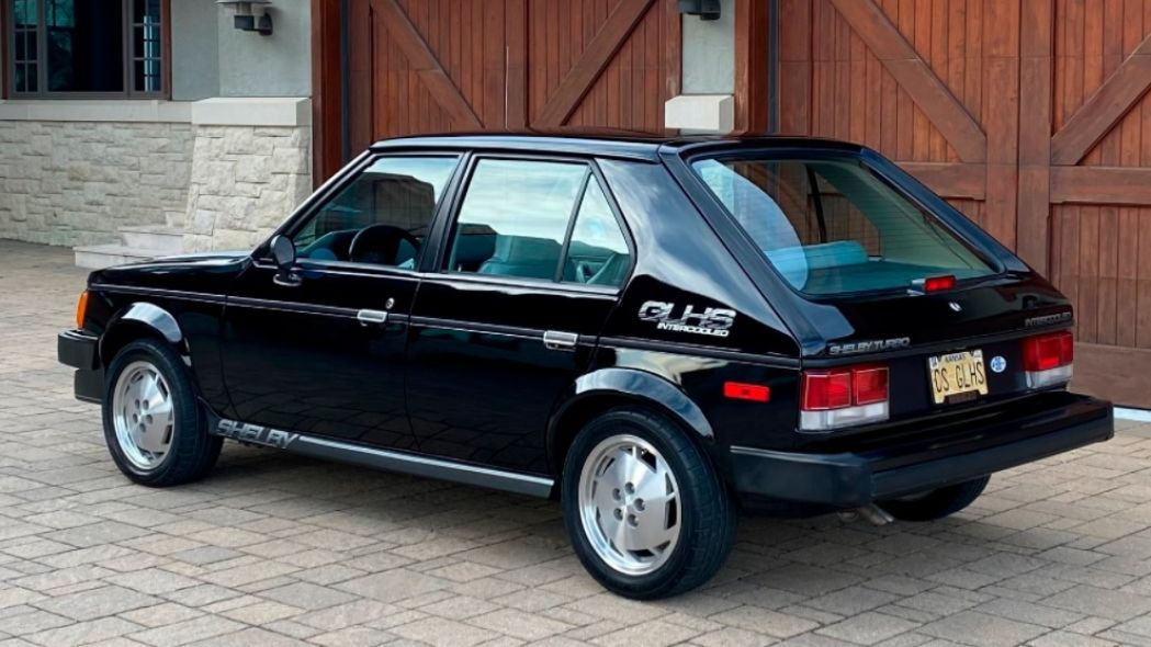 Dodge Shelby Omni GLHS Carroll Shelby Tuning 5 classics: Dodge Shelby Omni GLHS from Carroll Shelby!