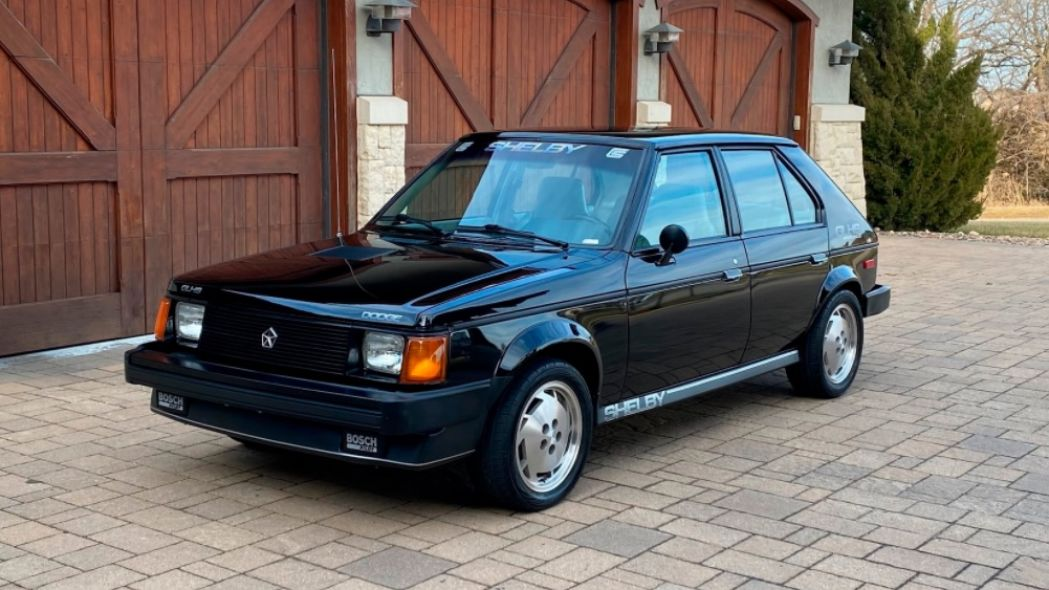 Dodge Shelby Omni GLHS Carroll Shelby Tuning 9 classics: Dodge Shelby Omni GLHS from Carroll Shelby!