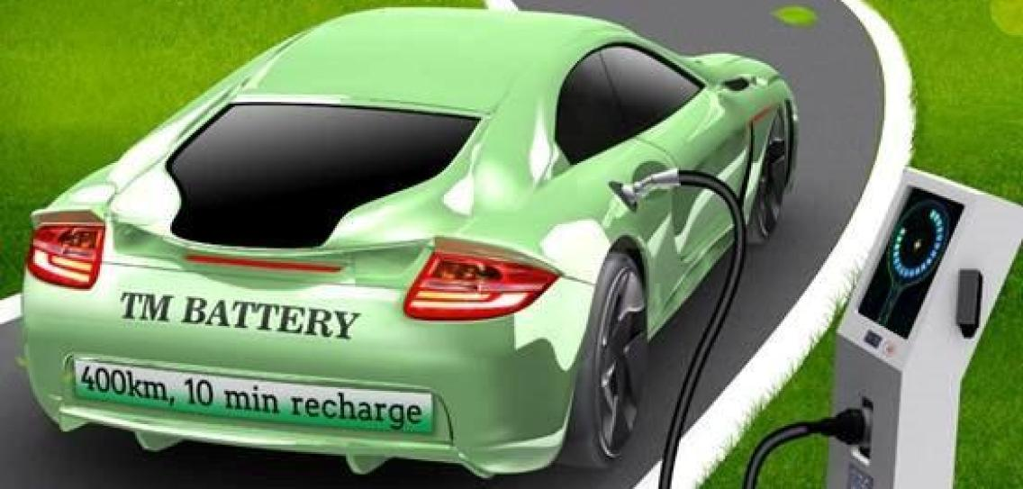E Charging the car range refueling the self-heating battery More range in the electric car with self-heating batteries!