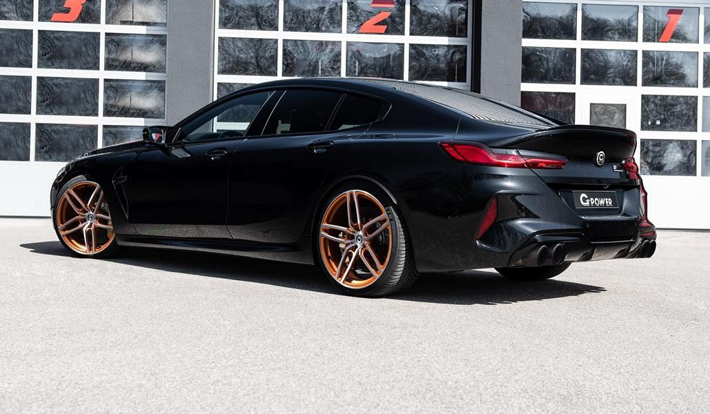 G Power BMW M8 Gran Coupe G16 Tuning 1 Heftig   830 PS im G Power BMW M8 Gran Coupe (F93)