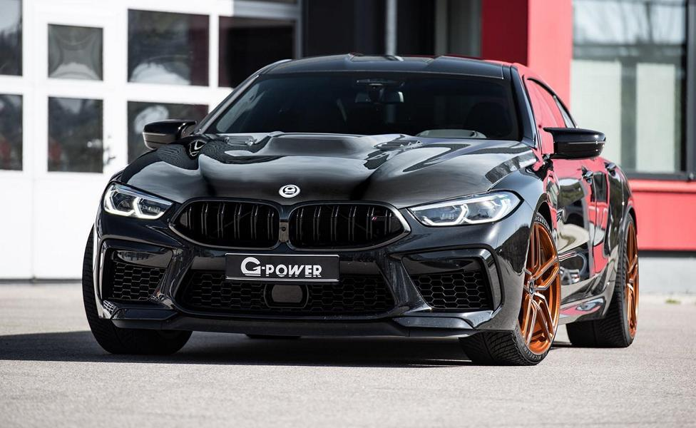 G Power BMW M8 Gran Coupe G16 Tuning 3 Heftig   830 PS im G Power BMW M8 Gran Coupe (F93)