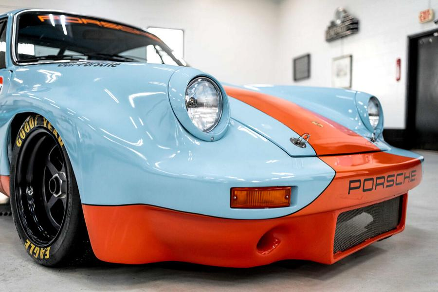 Gulf Style und RSR Widebody Kit 71er Porsche 911 T 17 Gulf Style und RSR Widebody Kit am 71er Porsche 911 T!