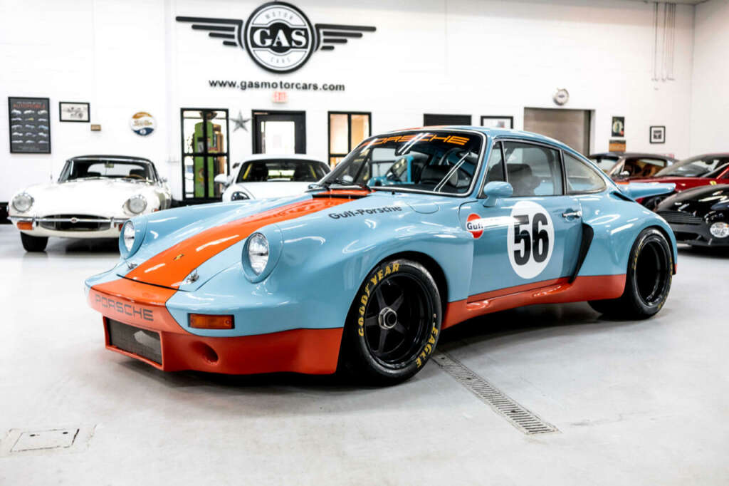Gulf Style und RSR Widebody Kit 71er Porsche 911 T 3 Gulf Style und RSR Widebody Kit am 71er Porsche 911 T!