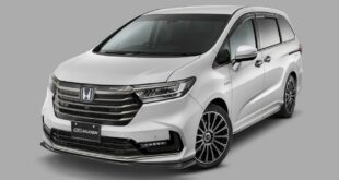 Honda Odyssey Mugen Tuning 2021 9 310x165 Subtle make-up for the Honda Odyssey by Mugen!