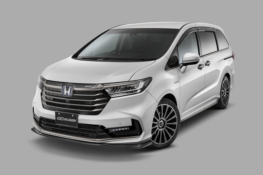 Honda Odyssey Mugen Tuning 2021 9 Dezentes Make Up für den Honda Odyssey von Mugen!