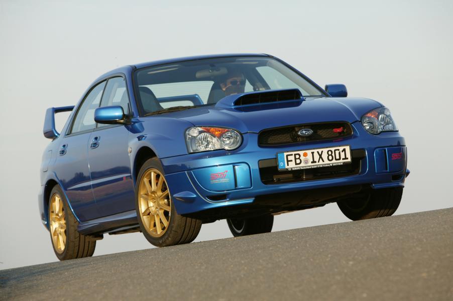 Impreza 2.0 WRX STI Modelljahr 2004 02 Subaru WRX STI: Mythos aus der blau goldenen Rallye Ära!