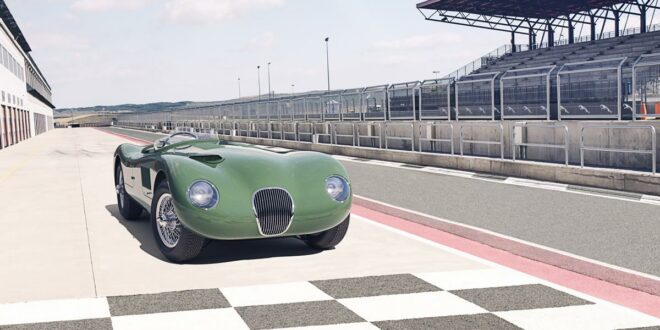 Comeback: Jaguar C-Type kommt als Continuation Car!