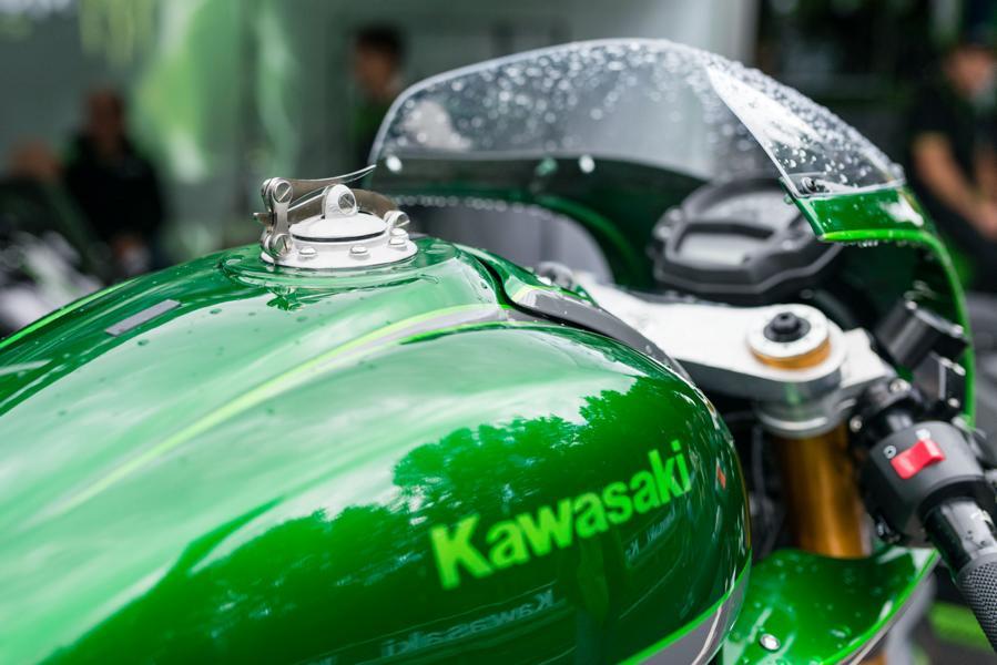 Kawasaki Underdog Tuning 2016 6 Projekt 2016   Tuning Custom Racer Kawasaki Underdog!