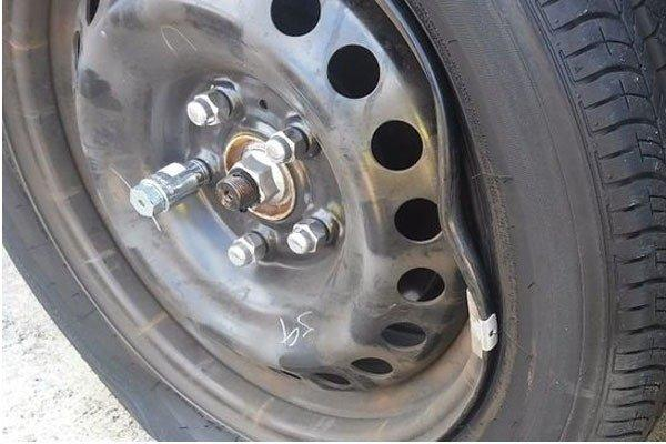 Plastic rims PVC rims Tuning defective Plastic rims? Not really a reality yet!