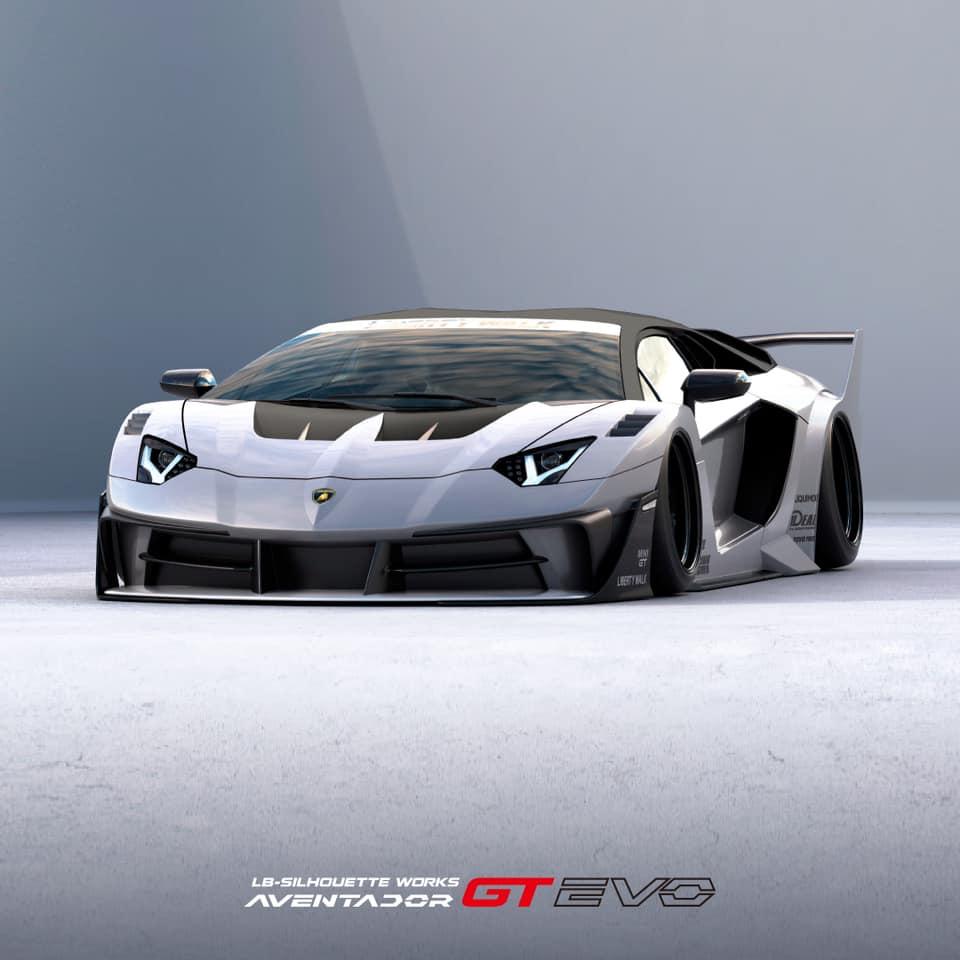 LB Silhouette WORKS GT Evo Lamborghini Aventador Widebody Tuning 1 Irre: LB★Silhouette WORKS GT Evo Lamborghini Aventador!