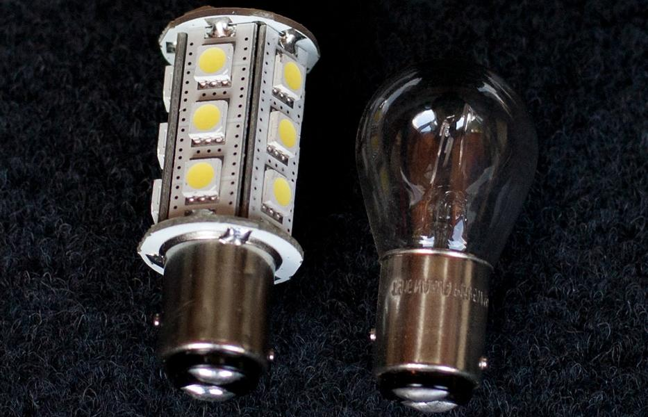 LED retrofit light bulb turn signal halogen lamp tuning of light bulbs? Always pay attention to the certification mark!