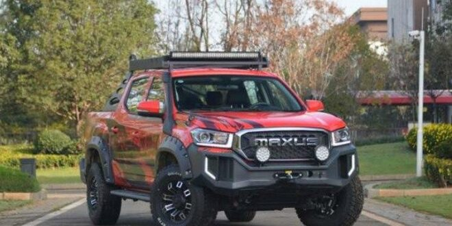 Maxus T70 Chase Edition with off-road tuning for the rough!