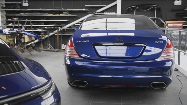 Maybach 57S Coupe Xenatec Farbwechsel Tuning Forgiato 4 Maybach 57S Coupé von Xenatec bekommt Farbwechsel!