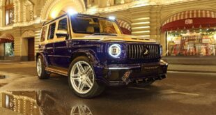 Maybach Optik Widebody Kit Mercedes G63 AMG Inferno Topcar Header 310x165 Maybach Optik und Widebody Kit am Mercedes G63 AMG!