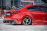 Mazda 6 Airrde Tuning Slammed 28 155x103 Red Mazda Tuning pair with proper lowering!