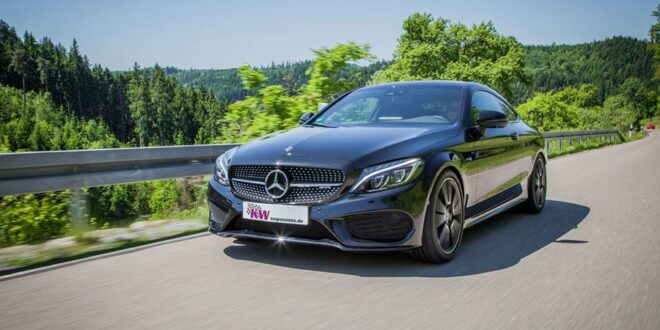 New: Mercedes-AMG C43 4MATIC with KW lowering!