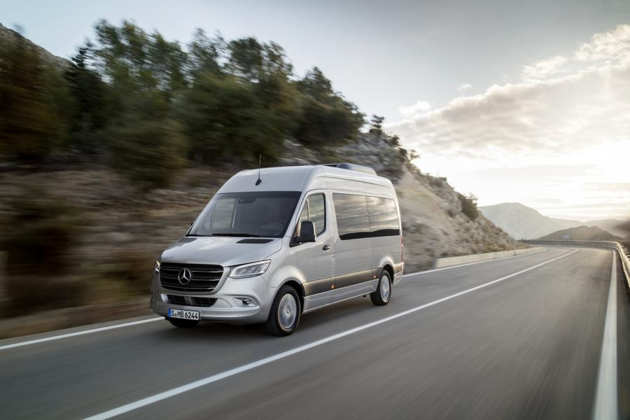 Mercedes Benz Marco Polo Family Camping 2 Mercedes Benz Vans: First outlook on the motorhome year 2021