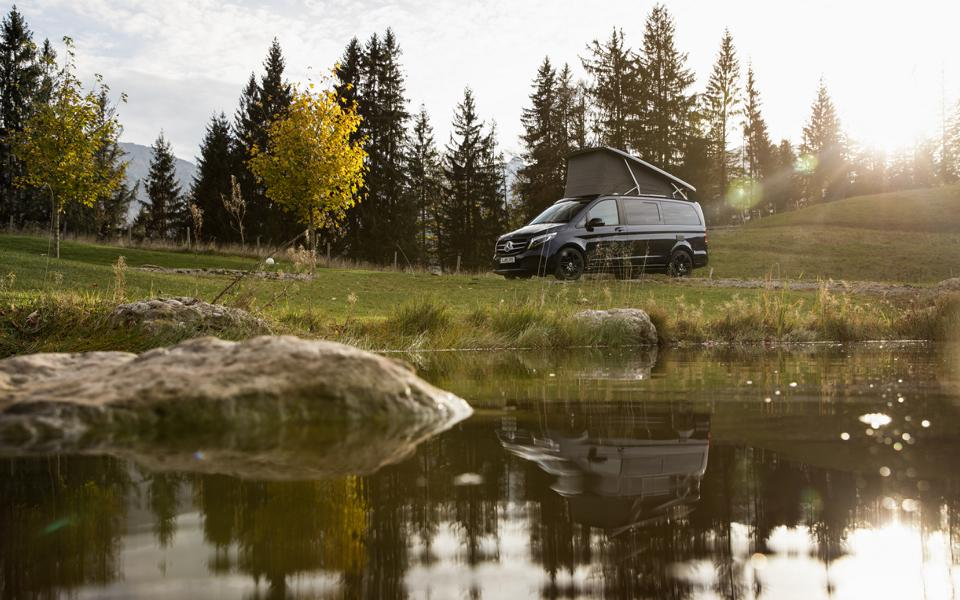 Mercedes Benz Marco Polo Family Camping 7 Mercedes Benz Vans: First outlook on the motorhome year 2021