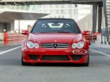 Mercedes CLK DTM AMG Cabriolet Fire Opal Red 3 155x116 for sale: Mercedes CLK DTM AMG Cabriolet in fire red!
