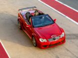 Mercedes CLK DTM AMG Cabriolet Fire Opal Red 52 155x116 for sale: Mercedes CLK DTM AMG Cabriolet in fire red!