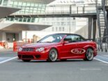 Mercedes CLK DTM AMG Cabriolet Fire Opal Red 61 155x116 for sale: Mercedes CLK DTM AMG Cabriolet in fire red!
