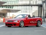 Mercedes CLK DTM AMG Cabriolet Fire Opal Red 63 155x116 for sale: Mercedes CLK DTM AMG Cabriolet in fire red!