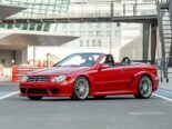 Mercedes CLK DTM AMG Cabriolet Fire Opal Red 67 155x116 for sale: Mercedes CLK DTM AMG Cabriolet in fire red!