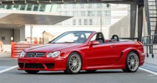 Mercedes CLK DTM AMG Cabriolet Fire Opal Red 67 310x165 for sale: Mercedes CLK DTM AMG Cabriolet in fire red!