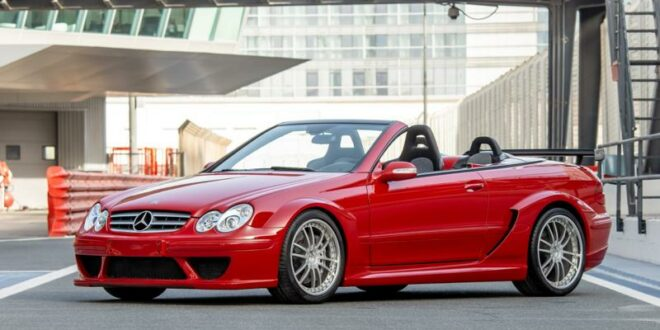 for sale: Mercedes CLK DTM AMG Cabriolet in fire red!