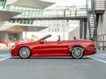 Mercedes CLK DTM AMG Cabriolet Fire Opal Red 69 155x116 for sale: Mercedes CLK DTM AMG Cabriolet in fire red!