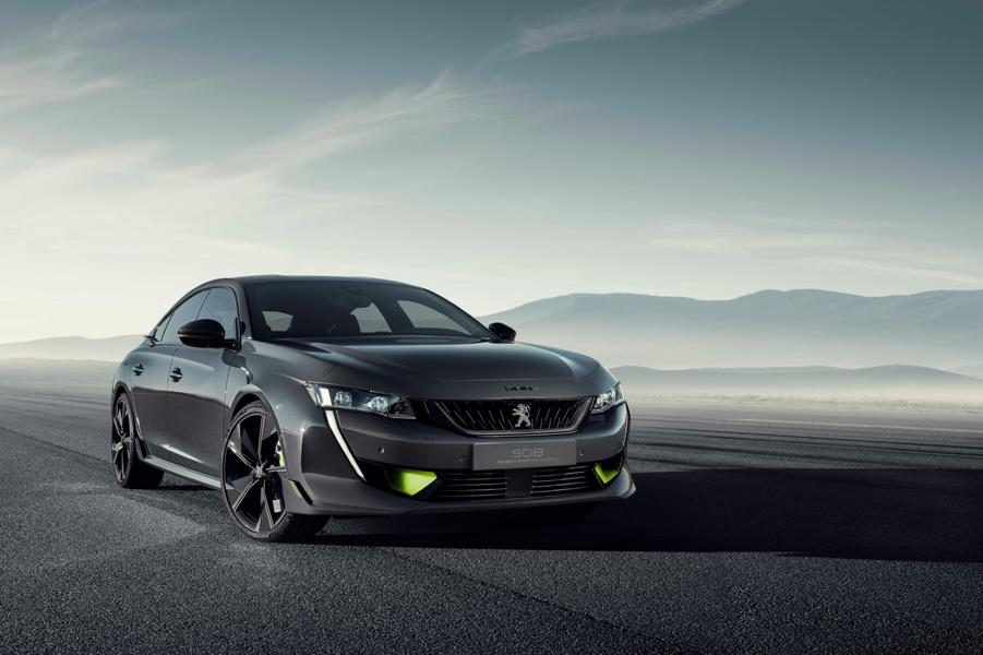 PSE Peugeot 508 Tuning 2021 2 360 PS in the new Peugeot 508 PSE Plug In Hybrid!