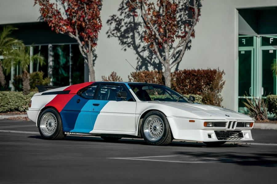 Paul Walker BMW M1 Tuning Procar 10 Tuned 350 PS BMW M1 from Paul Walker will be auctioned!