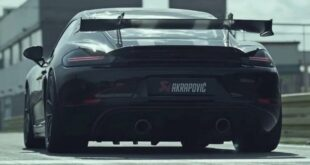 Porsche 718 Cayman GT4 with Akrapovic 310x165 Video: Lamborghini #Jumpacan as a crazy off-road conversion!