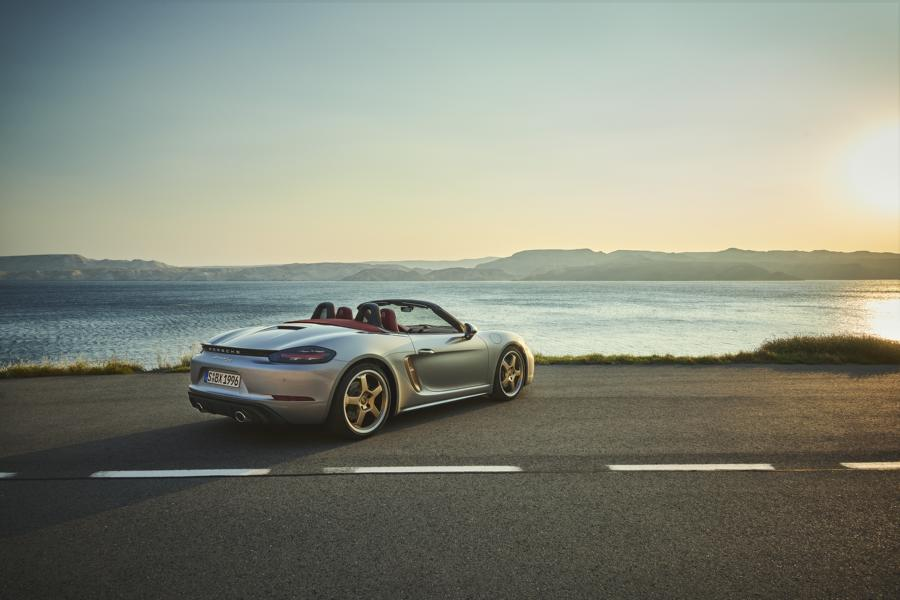 Porsche Boxster 25 years Limited Tuning 5 Porsche Boxster 25 years as a limited anniversary model!