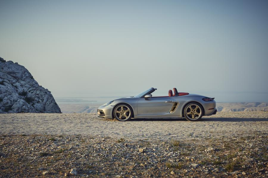 Porsche Boxster 25 years Limited Tuning 8 Porsche Boxster 25 years as a limited anniversary model!