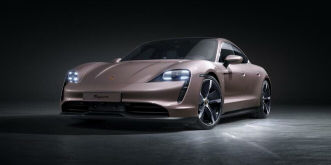 Base model: Porsche Taycan 2021 now with rear-wheel drive!