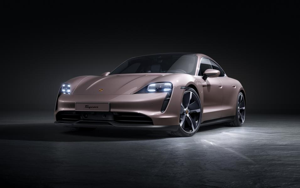 Porsche Taycan 2021 4 base model: Porsche Taycan 2021 now with rear-wheel drive!