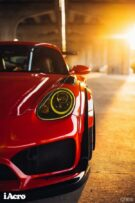 Roter Porsche Cayman 987 Widebody Kit Tuning Turbofans 13 135x203 Roter Porsche Cayman (987) mit extremem Widebody Kit!