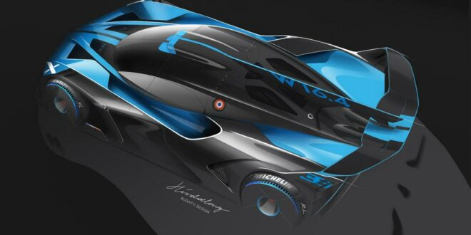 Most beautiful hypercar of the year: the Bugatti Bolide!