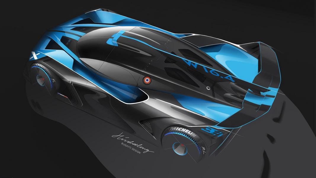Most beautiful hypercar Bugatti Bolide 4 Most beautiful hypercar of the year: the Bugatti Bolide!