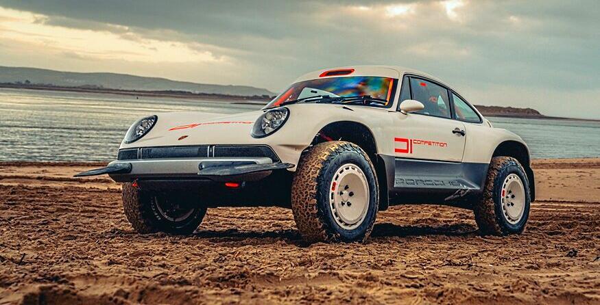 Singer ACS Porsche 911 Restomod All Terrain Header Porsche scheinbar mit dem ACS von Singer Design unglücklich!
