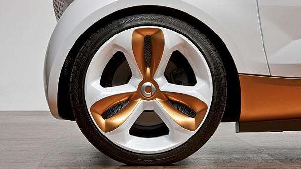 Smart forvision plastic rims Plastic rims? Not really a reality yet!