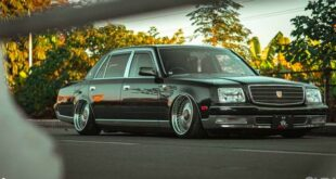 Toyota Century V12 VIP Tuning Hellaflush Head 310x165 Toyota Century V12 with VIP Tuning and Hellaflush from Vintage Works.
